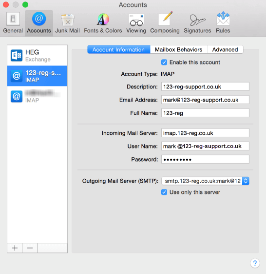 apple-mail-change-account-settings What are the Roadrunner Email Settings For iPhone?