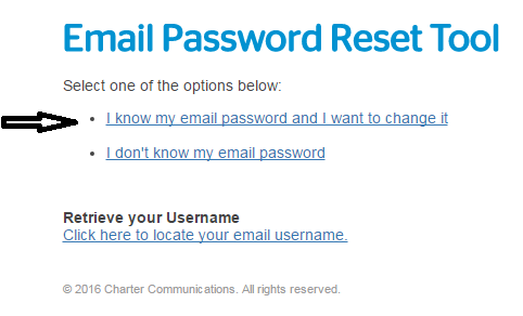 I do not know my email password